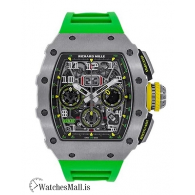 Richard Mille Replica Automatic Flyback Chronograph Titanium 44.5MM