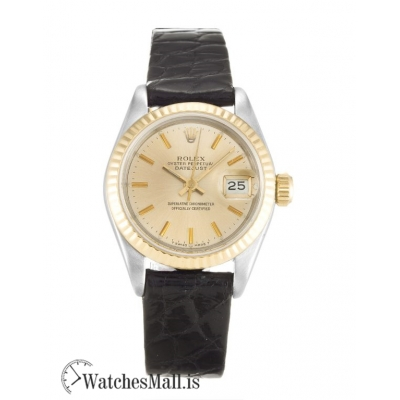 Rolex Datejust Replica Automatic Steel & Yellow Gold Lady 69173 26MM