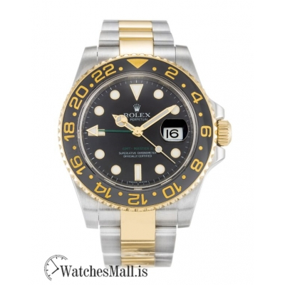 Rolex GMT Master II Replica Grade Stainless Steel Automatic 116713 LN 40MM