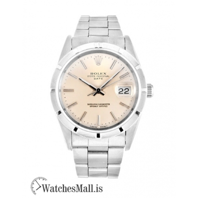 Rolex Oyster Perpetual Date Replica Steel (Oyster) 15210 34MM