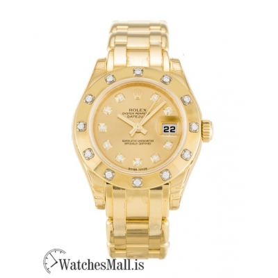 Rolex Pearlmaster Replica Ladies Automatic 80318 29MM