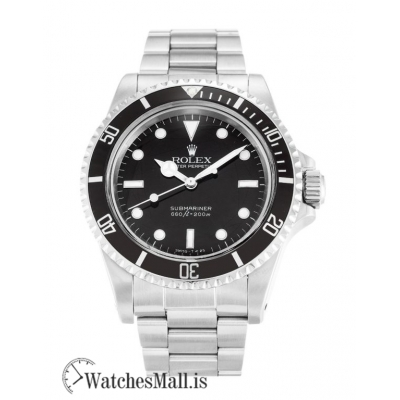 Rolex Submariner 16810 Automatic 316 Grade Stainless Steel 40MM