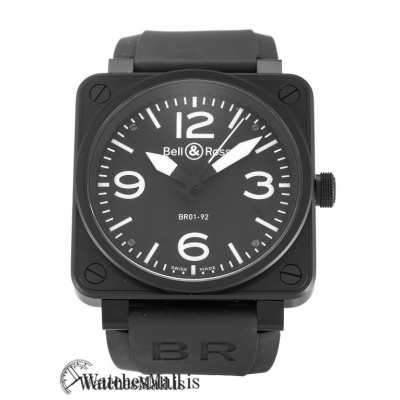 Bell and Ross BR01 Replica Automatic 92 Carbon 46MM