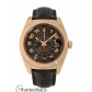 Rolex Replica Sky-Dweller Rose Gold Chocolate Dial Leather Strap 42MM Watch 326135